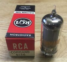 6136 Rca Command Vacuum Tube Nos Nib Tested Strong (More Available)