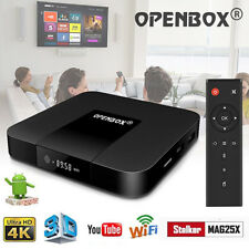 Openbox VX 2GB+16GB Android 7.1.2 Quad Core TV Box 17.4 KD Stalker Pro WIFI IPTV