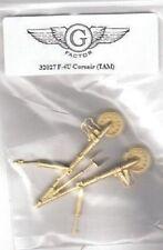 G-Factor 1/32 F4U Corsair Brass Landing Gear for Tamiya 32027 x