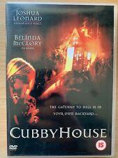 Cubby House DVD ~ 2001 Cult Australian Cubbyhouse Horror Film Movie