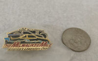 VINTAGE MILWAUKEE MILE INDY CAR CART RACING HAT PIN! 63