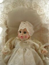 Vintage, Advertising Gerber Baby in Christening Gown Basket and Beddings