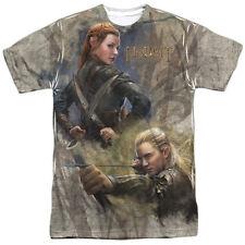 The Hobbit Legolas Elves Sublimation Front Print T-Shirt Size Xxxl, New Unworn