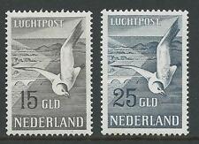 1951TG Nederland Luchtpost Zeemeeuw Nr.12-13  postfris mooie zegels zie foto's!!