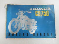 Honda CB 750 Four Sandguss Fahrerhandbuch Original ( 69.7 Printed in Japan )