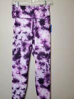 Women's JoyLab 7/8 High-Waisted Leggings, Purple camo print, Small, NEW, 1020
