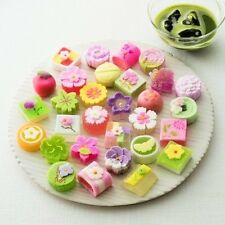 Kyoto,Japan  Wagashi sugar Gift  CANDY additive-free Cha-ganju  15Pieces
