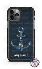 Anchor Pattern Design Customized Phone Case For iPhone 11Pro Samsung LG Google