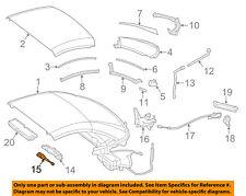 MERCEDES OEM 13-18 SL63 AMG Retractable Top-Sensor 1729053301