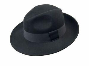 Cappello uomo feltro forma borsalino