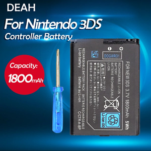 1PCS 3.7V 1800mAh CTR-003 Rechargeable Lithium Li-ion Battery Pack For Nintendo