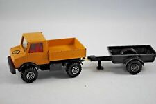 Matchbox SuperKings K-30 MERCEDES UNIMOG Truck w/ TRAILER Ideal for own Livery