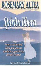 SPIRITO LIBERO - ROSEMARY ALTEA    ED. SPERLING