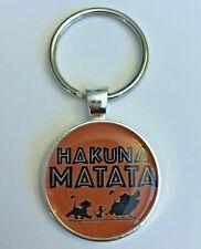 Key Chain Mickey Disney Lion King Hakuna Matata Simba Timon Pumba No Worries
