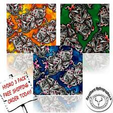 HYDROGRAPHIC FILM WATER TRANSFER PRINTING FILM HYDRO DIP DICE HYDRO 3 PACK