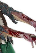 Blutige Armstulpe mit Narben Lieferung: 1 Armstulpe
