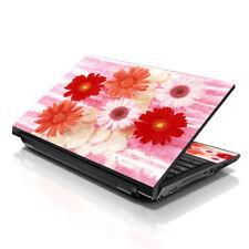 "13.3"" 15.6"" 16"" Laptop Skin Sticker Notebook Decal Red Daisy Flowers M-260"