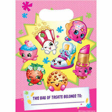 Shopkins 8 Loot Bags Pretty Pink Sweets Treat