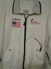 Yamaha Motors Outboards Full Zip Jacket  White Mens Size S/M