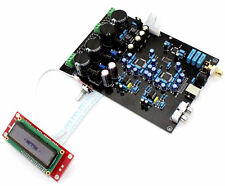 AK4495SEQ AK4118 NE5534 DOP DSD with 32BIT 768K Fiber+ U Coaxial Decorder Board