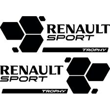 2x Renault Megane RS Trofeo Cool coche lado STICKER/DECAL