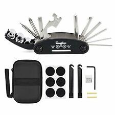 WOTOW 16 in 1 Multifunctional Bike Repair Tool Kit, Multi-Function Bicycle