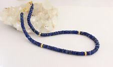 Collar de Lapis Piedras Preciosas Lapislázuli Discos azul