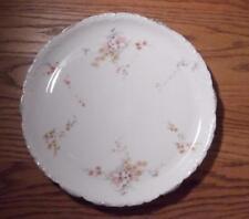 "Antique Rosenthal R&C Monbijou Barvaria 11.5"" Serving Plate Pink Yellow Flowers"