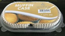 4,800 X Greaseproof Paper Muffin Cases (24 Packs of 200)