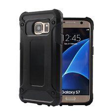 Funda hibrida anti-golpes para SAMSUNG GALAXY S6 y S6 EDGE protector calidad
