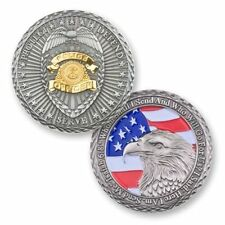 Police Officer Prayer Challenge Coin