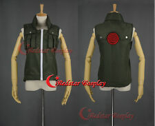 Naruto Kakashi Iruka Vest Cosplay Costume - Custom made in Any size