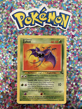 ⭐️ Zubat Fossil Set Pokemon Card Wizards WotC Game Freak Nintendo 1999 🎏