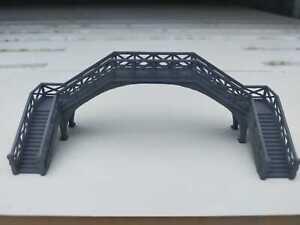 Goathland - Hogsmeade footbridge, N Gauge, Double Track Bridge