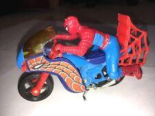 Vintage DC Comics Spider-Man Motorcycle Bike 1978 Marvel Secret Wars Diecast