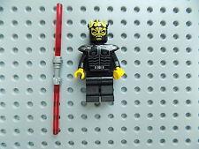Lego Star Wars Minifigure Savage Opress  7957 w/ dual sided lightsaber