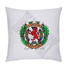 London Scottish Regiment cappello distintivo Design Cuscino Cuscino Imbottitura Inc. 45 x 45 cm
