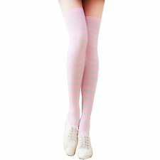 Long Pantyhose Cotton Strip New Over Knee Women Stockings Plus Size Socks Tights