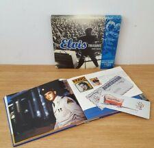 THE ELVIS PRESLEY TREASURES ROBERT GORDON HARDCOVER BOOK AUDIO CD & MEMORABILIA