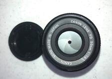 Canon FD 50mm 1.8 Lens
