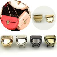 DIY Round Shape Metal Clasp Turn Lock Twist Lock for Handbag Bag Purse Hardware