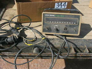 John Deere Computer Trak 150 Planter Monitor 12 Row