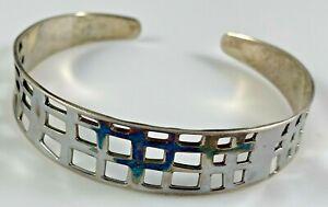 RLM Studios Robert Lee Morris Cuff Bracelet Sterling Silver 15.9 Grams