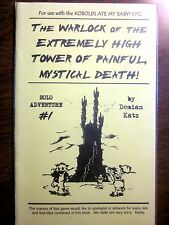 WARLOCK Of EXTREMELY HIGH TOWER PAINFUL DEATH - KOBOLDS ATE MY BABY! RPG (New)