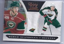 10-11 2010-11 LUXURY SUITE MARCO SCANDELLA ROOKIE /899 #247 MINNESOTA WILD