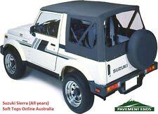 Suzuki Sierra Soft Top 1981-98 - Black, NEW, In-stock Australia, FREE delivery