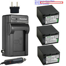 Kastar Battery AC Charger for Sony NP-FV100 & Sony DCR-SX73 DCR-SX83 DCR-SX85