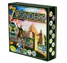 Seven 7 Wonders Board Game by Asmodee, Used