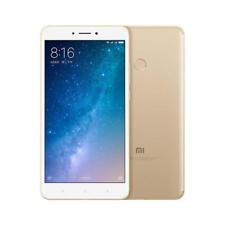 Teléfonos móviles libres Xiaomi Mi Max 2 color oro con conexión 4G