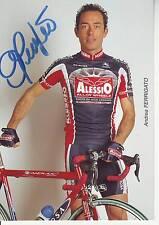 CYCLISME carte cycliste Andrea FERRIGATO  équipe ALESSIO 2001 signée